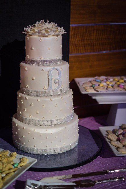 wedding cake - Marcie & Henry